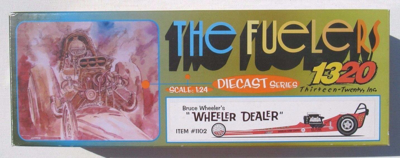 1320 THE FUELERS DRAGSTER BRUCE WHEELER'S  WHEELER DEALER  2,651 of 3,500 1 24