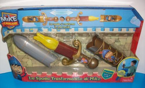 FISHER PRICE SPADA MIKE IL CAVALIERE TRASFORMABILE 2 IN 1 ELETTRONICA