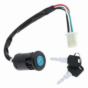 1pcs-Cable-Allumage-Interrupteur-Go-Karting-E-Velo-Electrique-Scooter-Cles-250mm