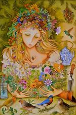Organic Medical Herb Seed Garden for the Feminine Spirit. Women's Collection.