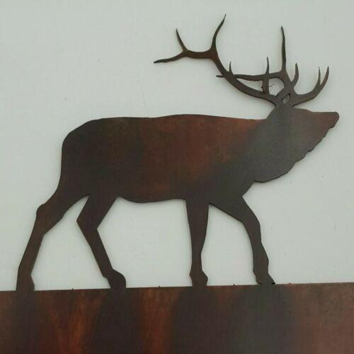 La faune Elk Noir Outlet Couvre commutateur plaques Toggle country western cabine