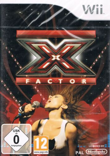 1 von 1 - X Factor (Nintendo Wii, 2010, DVD-Box)