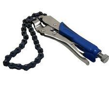 Bergen Locking Chain Snap Wrench Spanner Car Oil Filter Remover Tool Mechanics