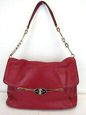 Coach Scarlet Genuine Leather Madison Shoulder Flap Bag MSRP $298 #CHN 50