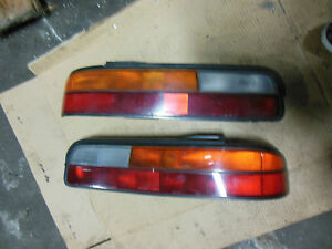 Image is loading JDM-NISSAN-SILVIA-TAIL-LIGHTS-180SX-TAIL-LIGHT-