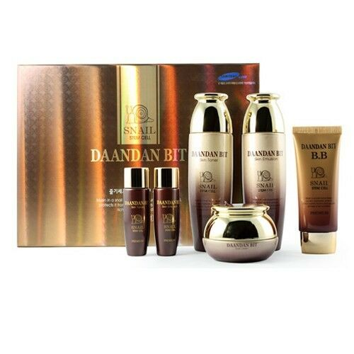 Daandanbit Stem Cell Premiun Snail mucus Skin care 4Set Nutrition Wrinkle Care