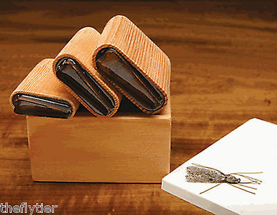 RIVER ROAD DELUXE STONEFLY  WING 6 CUTTER SET with Wood Caddy Fly Tying
