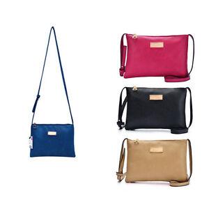 PU-Leder-Damen-Tasche-Shopper-Handtasche-Beutel-Schultertasche
