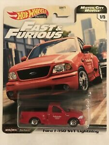Hot Wheels 2020 Fast /& Furious Motor City Muscle Ford F-150 SVT LIGHTNING 1//5