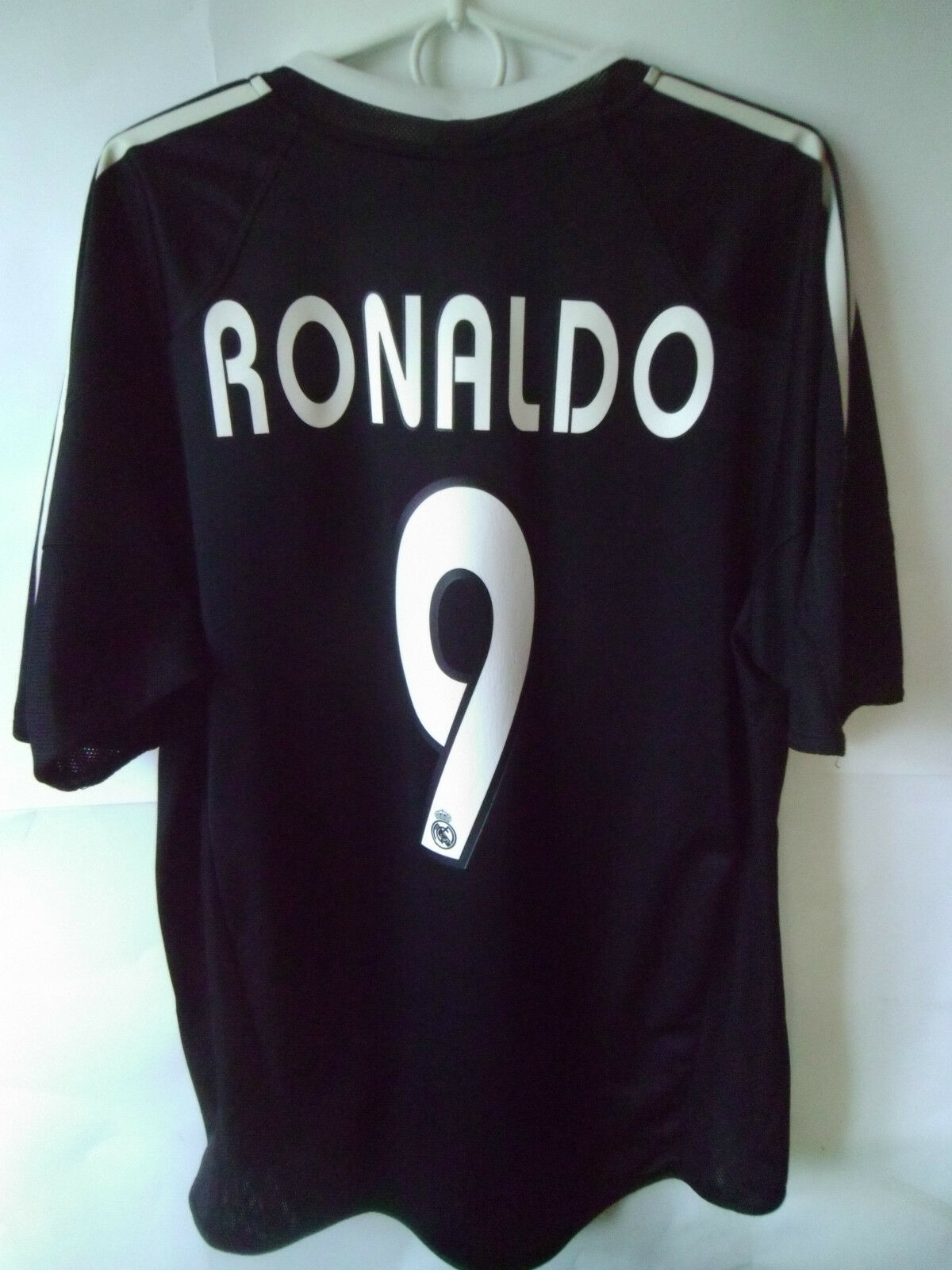 VERY RARE       RONALDO     2004-05 Real Madrid Away Shirt Jersey Trikot L 12ce4d