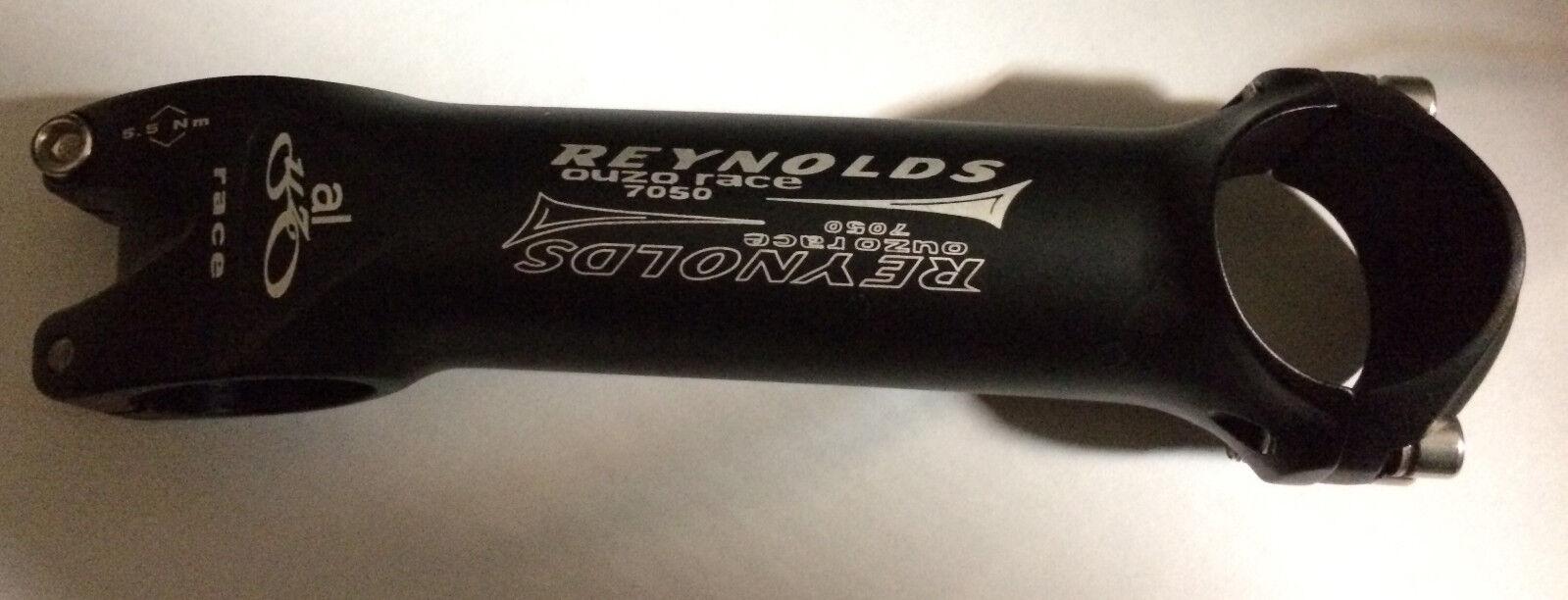 Attacco manubrio bici corsa Reynolds Ouzo  race 7050 road handlebar stem 31,8  clearance up to 70%