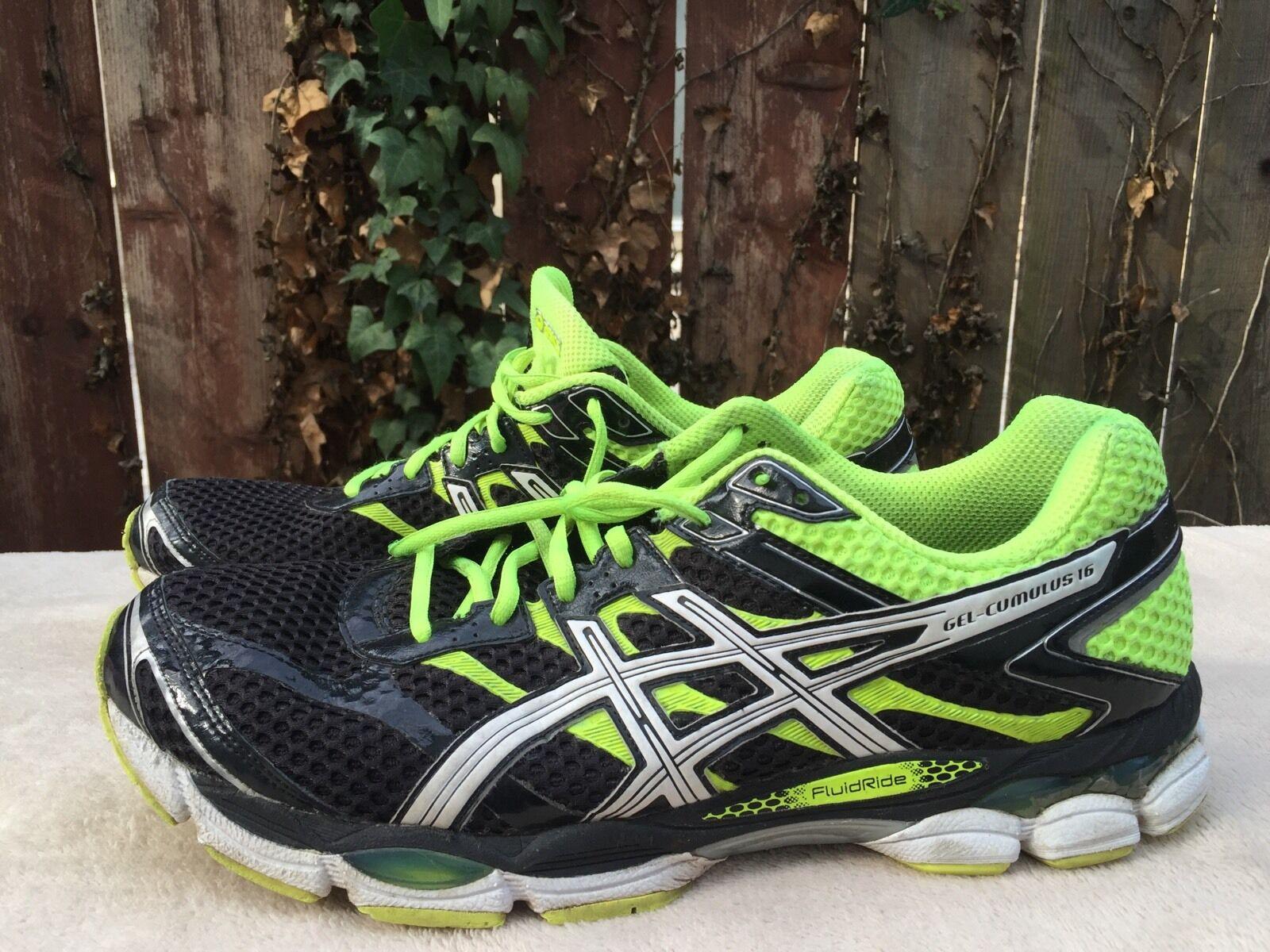 Men's Asics GEL-CUMULUS 16 shoes T439N 9001 US Sz 14
