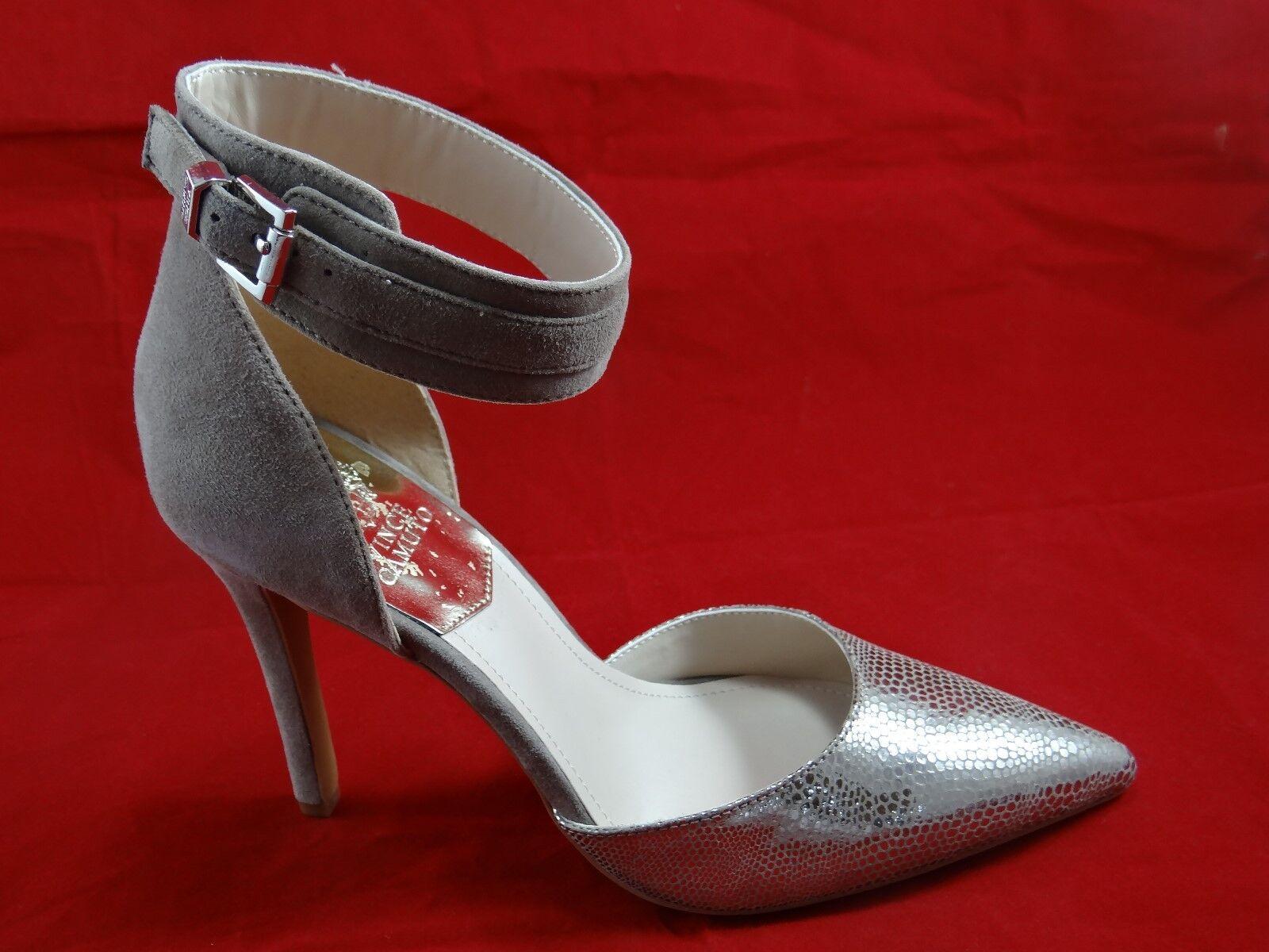 Vince Camuto Lyla Pointed  Leder Ankle Strap Pointed Lyla Toe Pumps Heels Schuhes Tan Sz 10 0d6248