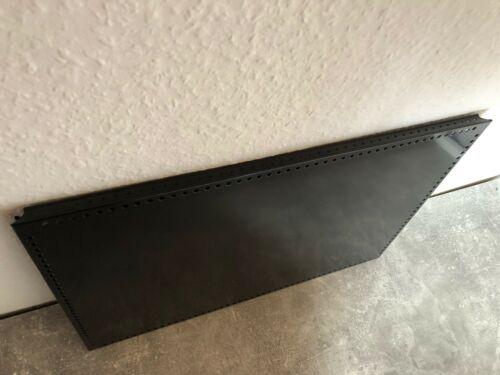 USM Haller Tablar mit Lochrand 50 x 35 cm Schwarz neue Generation