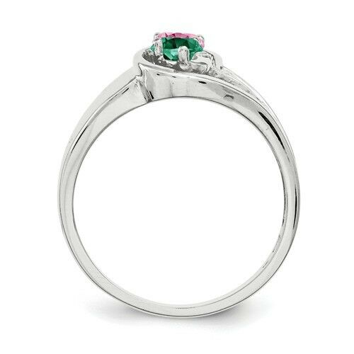 Promise ring collection. Twirling Ring Sterling Silver Couples Birthstones Ring