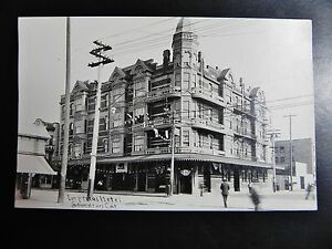 KGgallery RPPC IMPERIAL HOTEL Stockton CALIFORNIA CA Main St. Real Photo Motel