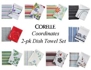 New Corelle Coordinates KITCHEN APRON w//POCKET Chef BBQ Cook CHOOSE YOUR PATTERN