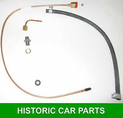 Oil Pressure Gauge to flexible hose PIPE /& NUT MG MIDGET Mk2 1098cc 1964-66