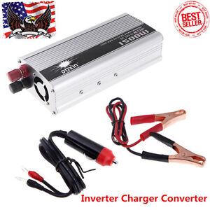 1500W Car Electronic FM DC 12V to AC 110V Inverter Charger Converter USB BP