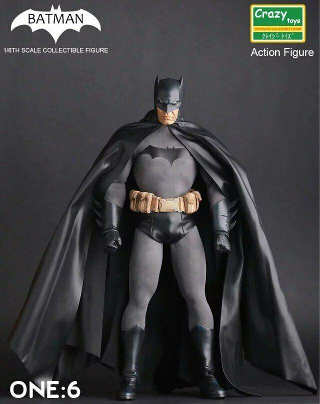 Action figure DC Comics BATMAN The Dark Knight Gotham City 30 cm collezionismo