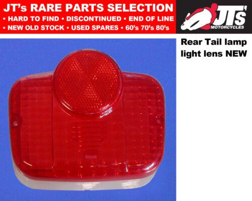 REAR TAIL LENS LIGHT LENS BACK BRAKE LAMP SUZUKI B120 M P Made in Japan
