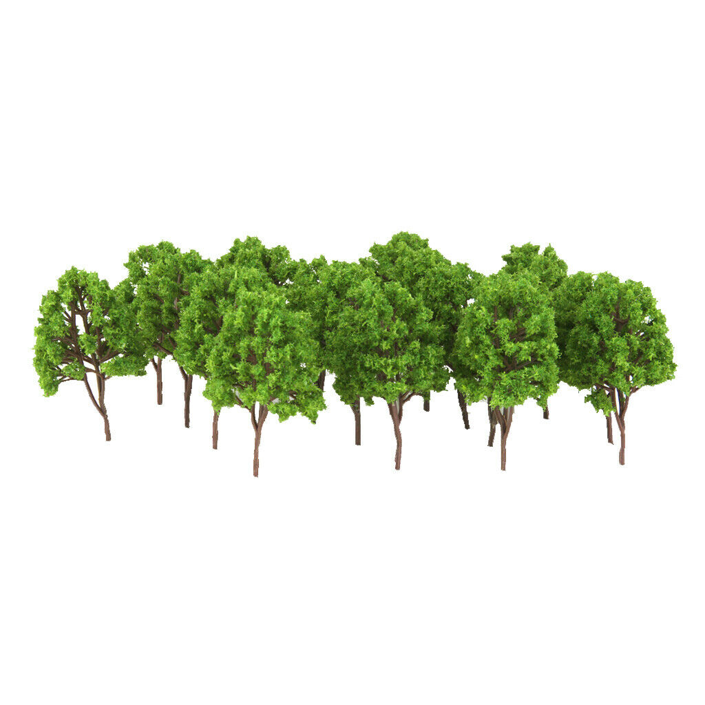 Lots 20 1:160 N Scale Tree Model Set for Sandtable Scenery Layout Decor