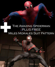 Amazing Spider Man 2012 Suit Costume Pattern PLUS FREE Miles Morales Pattern!