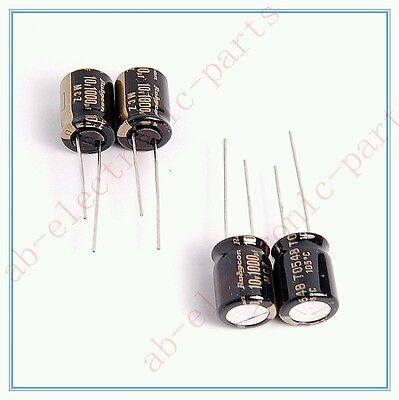 20x 1000uf 10v NCC Radial Electrolytic Capacitors 8x16mm KZH 10v1000uf Low ESR