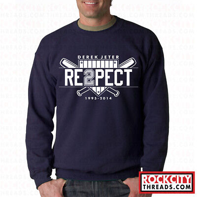 RESPECT DEREK JETER HOODIE Final NY New York Yankees Retirement Captain Re2pect