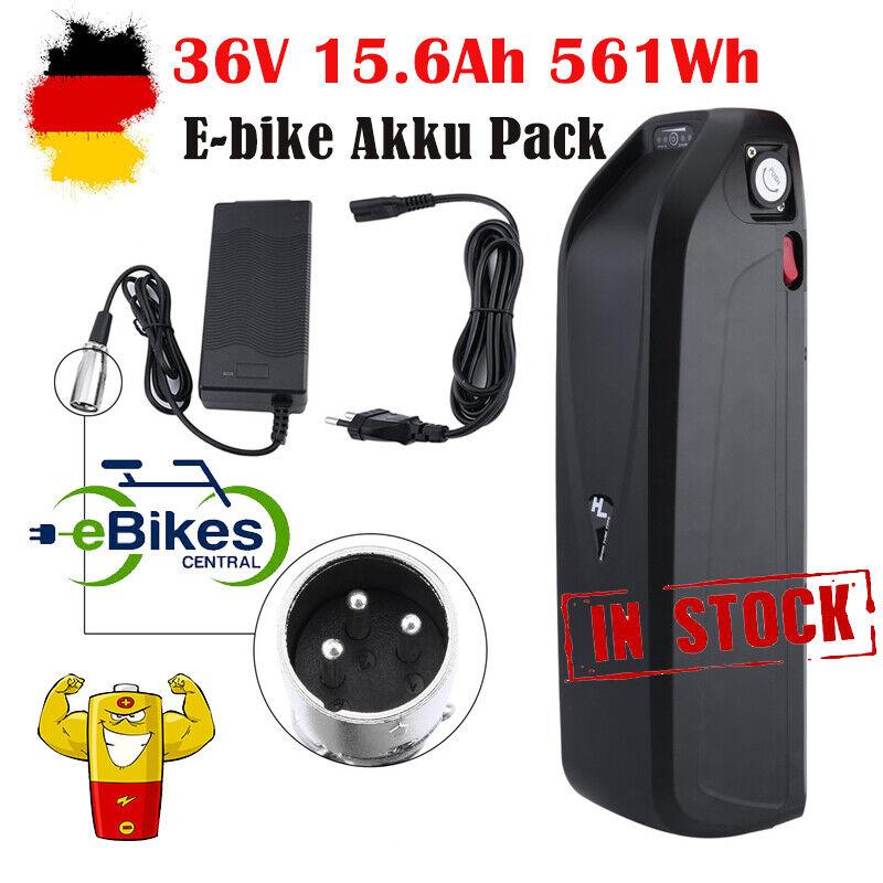 E-Bike Batterie 36V 13AH+2.6AH Pedelec Umbausatz Li-Ionen Rahmenakku Ladegerät