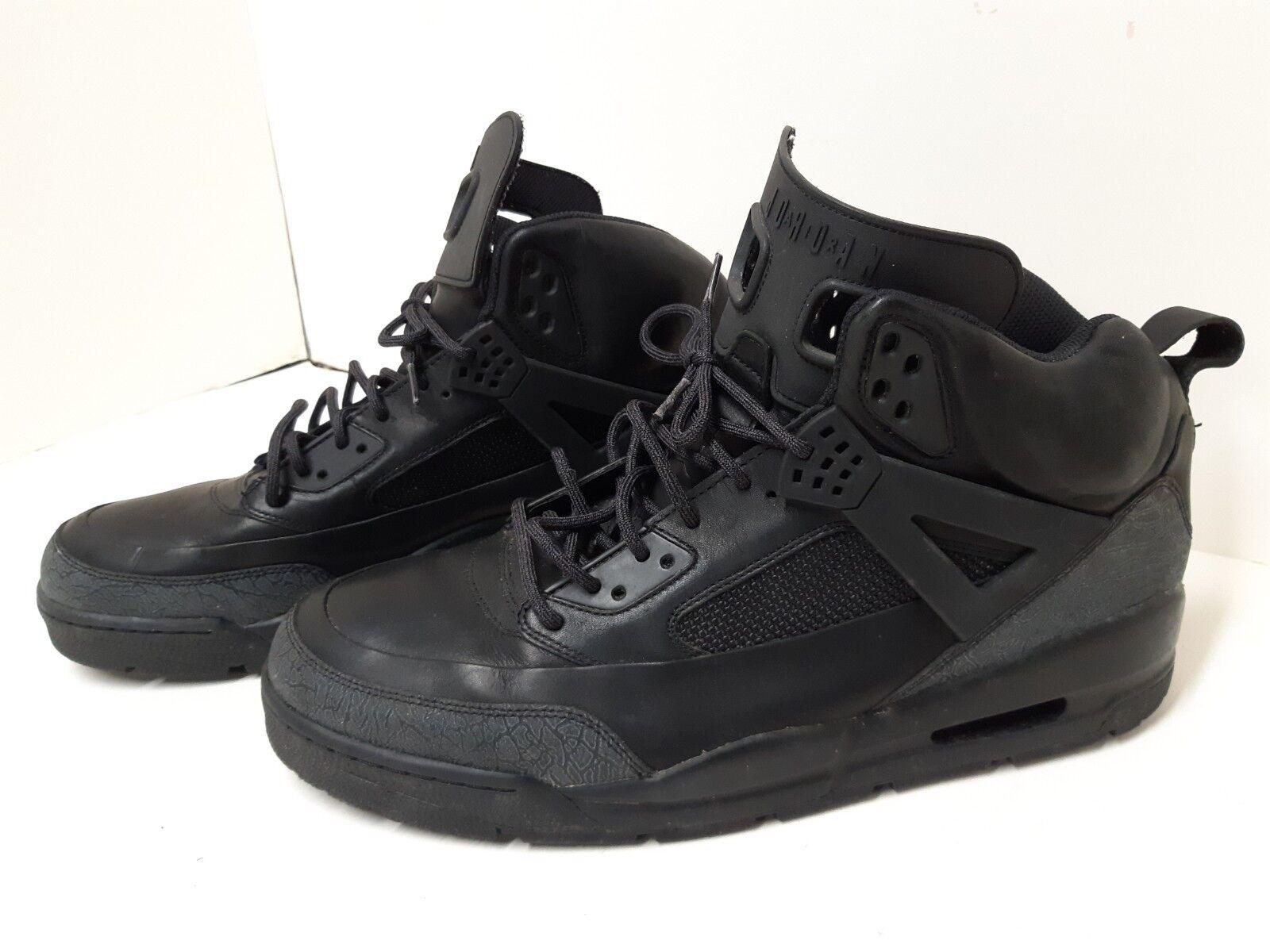 Nike Jordan Winterized Spiz'ike shoes 375356-001 Mens 16 black winter boots