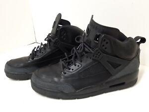 Nike Jordan Winterized Spiz ike Shoes 375356-001 Mens 16 black ... 17695489f8e3