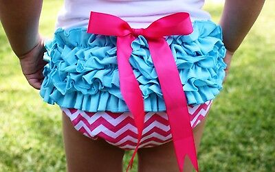 Infant Toddler Baby Girl Clothes Floral Ruffle Top Bloomer Diaper Cover Headband Baby Girls Gift 18-24 Months