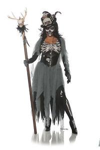 Underwraps Black Magic Woman Voodoo Witch Doctor Adult ...
