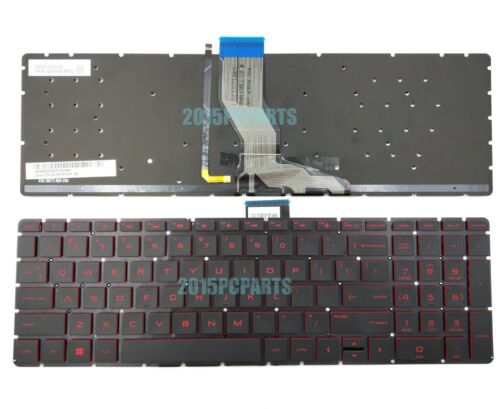 New HP Pavilion 15-BK137CL 15-BK151NR 15-BK152NR 15-BK153NR Keyboard US Backlit