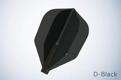 F Shape Dark Black 3pk Cosmo Fit Flights Air Sporting Goods Darts ...
