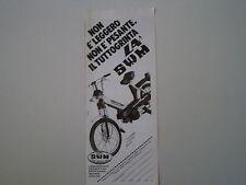 advertising Pubblicità 1980 SWM LA 50