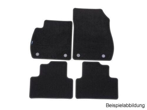 11773804 PetexPassform Fußmatte velour Schwarz für Stoffmatte Velours