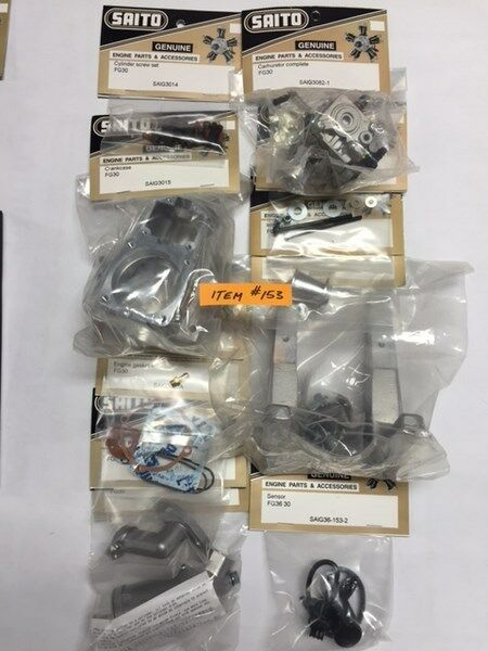 BRAND NEW VARIOUS SAITO FG- 30 PARTS (c)