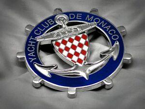 Yacht-Club-de-Monaco-Monte-Carlo-Badge-Plakette-Emblem-Furst-Rainer
