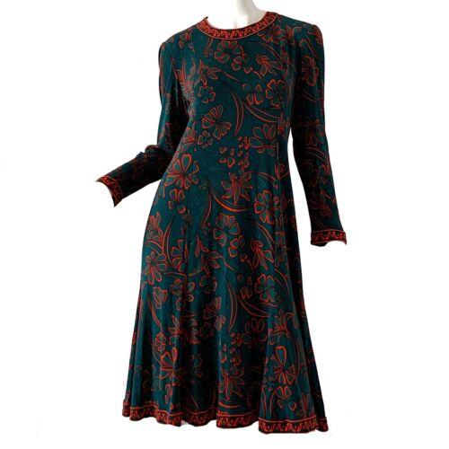 Vintage 60s Averardo Bessi Italy Mod Silk Floral P