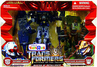 Transformers ROTF Voyager Class Whirl & Bludgeon Master of Metallikato Set