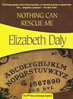 Nothing Can Rescue Me by Elizabeth Daly (Paperback / softback)
