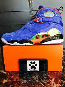 0a20a954bb3 Image is loading Nike-Air-Jordan-8-Retro-DB-Doernbecher-729893-