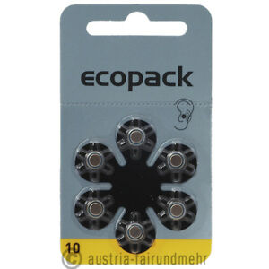 6x-ECO-Pack-VARTA-Hoergeraete-Batterie-V10-PR70-gelb