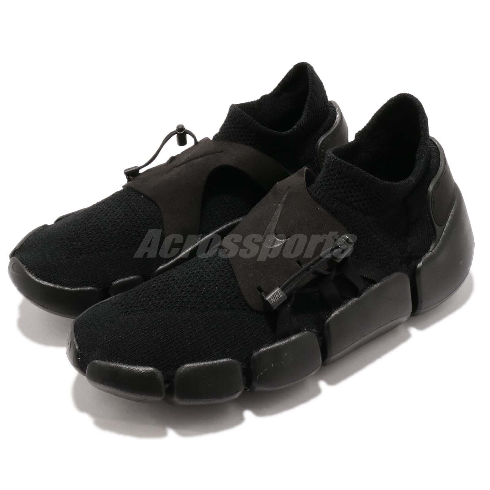 Nike Mens Footscape Flyknit DM Black