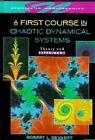 A First Course in Chaotic Dynamical Systems: Theory and Experiment by Robert L. Devaney (Hardback, 1992)