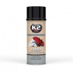 Pintura Anticalorica Negro Pintura Para Pinzas De Freno K2 Pro Spray 400ml Ebay