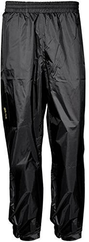 DBlade Rain Pants Black Waterproof Overtrousers Mens Womens