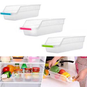 Shelf-Storage-Rack-Kitchen-Refrigerator-Space-Saver-Organizer-Slide-Holder-Box-Z